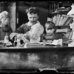 Strindberg with children